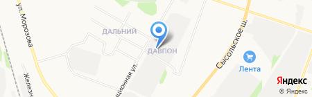 Сварка-Коми на карте Сыктывкара