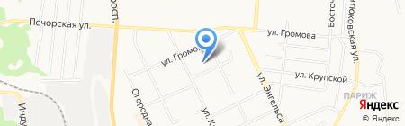 Столичные высоты на карте Сыктывкара