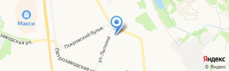 Сыктывкарская прокуратура по надзору за соблюдением законов в исправительных учреждениях на карте Сыктывкара