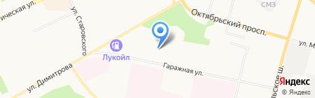 Дорожный контроль на карте Сыктывкара