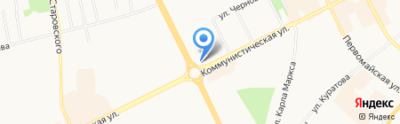РОКОКО на карте Сыктывкара