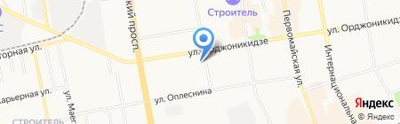 Республиканский учебный центр Министерство архитектуры на карте Сыктывкара