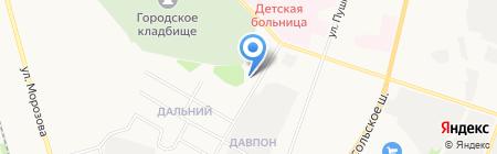 FordFocusClub на карте Сыктывкара