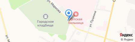 Кладбище на карте Сыктывкара
