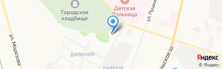 ТРАНС-ПОРТ на карте Сыктывкара