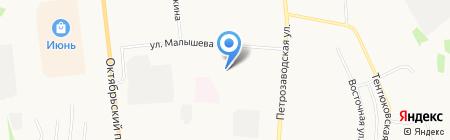 УКОР-1 на карте Сыктывкара