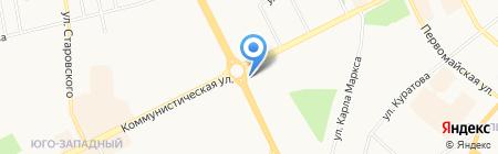 Мелодия на карте Сыктывкара