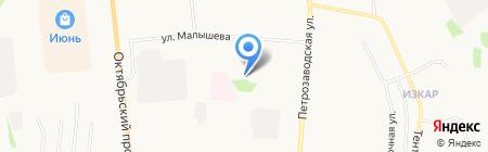 Молодежный центр г. Сыктывкара на карте Сыктывкара