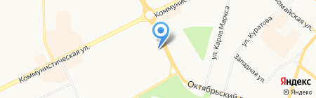 Храм Вознесения Христова на карте Сыктывкара
