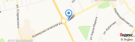 BonApe на карте Сыктывкара