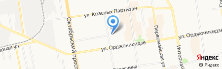 Велес на карте Сыктывкара