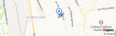 Ремонтно-эксплуатационный участок №1 на карте Сыктывкара