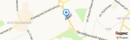 Студенческая на карте Сыктывкара