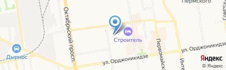 Стеклосервис ТМ на карте Сыктывкара