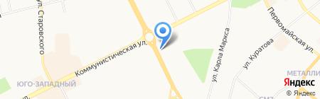 Салон-магазин штор на карте Сыктывкара