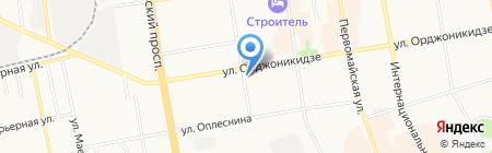 Лин Трэвел на карте Сыктывкара