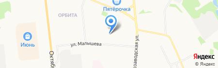 Центр дополнительного образования детей №25 на карте Сыктывкара