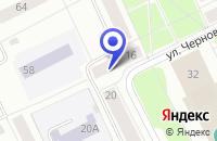 Схема проезда до компании ЦЕНТРАЛЬНЫЙ УПМ в Сыктывкаре
