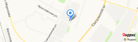Посредник на карте Сыктывкара