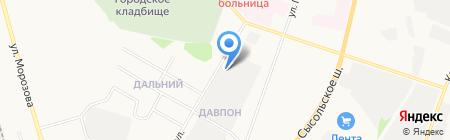 Объединенное автохозяйство ГБУ на карте Сыктывкара