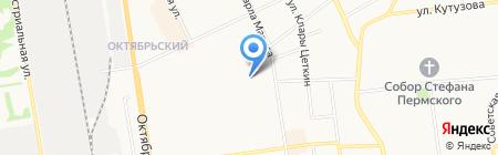 Детский сад №43 на карте Сыктывкара