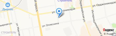 Волжская ТГК на карте Сыктывкара