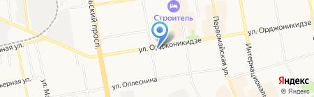 Раиса на карте Сыктывкара
