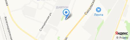 Дом на Пушкина на карте Сыктывкара