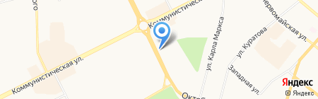 Марафет на карте Сыктывкара