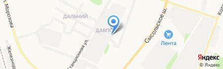 Ависар на карте Сыктывкара