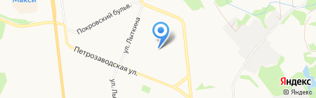 Детский сад №116 на карте Сыктывкара