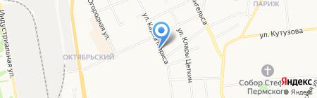 Меховая одежда на карте Сыктывкара