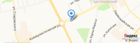 Кузина на карте Сыктывкара