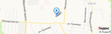 Детский сад №96 на карте Сыктывкара