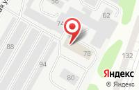 Схема проезда до компании GuideTrack в Сыктывкаре