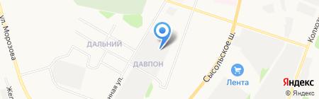 Вендор на карте Сыктывкара