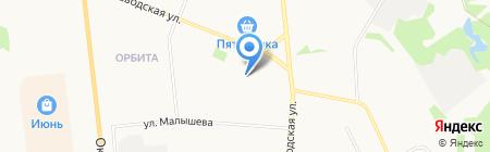 Детский сад №111 на карте Сыктывкара