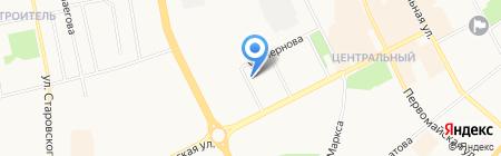Платный общественный туалет на карте Сыктывкара