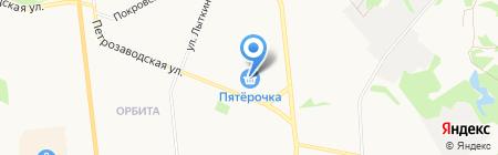 Салон-магазин цветов на карте Сыктывкара