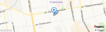 Чемпион на карте Сыктывкара