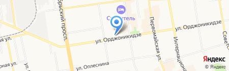 Золушка на карте Сыктывкара