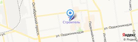 Newcar на карте Сыктывкара
