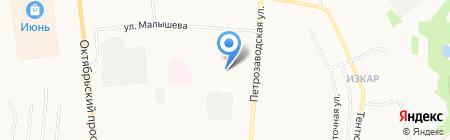 Детский сад №61 на карте Сыктывкара