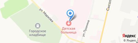 МИРРА на карте Сыктывкара