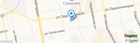 Пенсионер на карте Сыктывкара