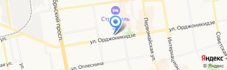 САСТОР-С на карте Сыктывкара