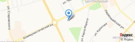Триумф на карте Сыктывкара