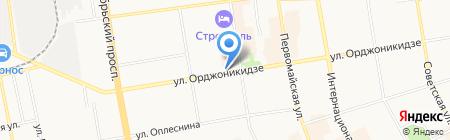 Мир цветов на карте Сыктывкара
