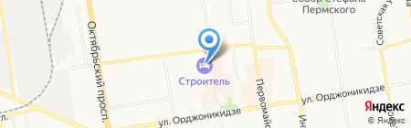 Западно-Уральский банк Сбербанка России на карте Сыктывкара