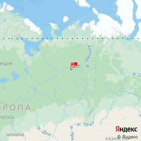 Weather station SYKTYVKAR in Syktyvkar, Komi Republic, Russia